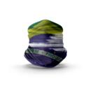imagem do produto  Bandana Tubular Multiuso Respirável com proteção Solar by Huzze-Rag Bandeira do Brasil - Mundo Terra