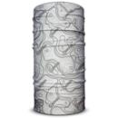 imagem do produto  Bandana Tubular Multiuso Respirável com proteção Solar Carta Topográfica Branco e Preto - Mundo Terra