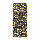 imagem do produto  Bandana Tubular Multiuso Respirável com Proteção Solar Coolnet Uv El Camino Setas Amarelas - Buff