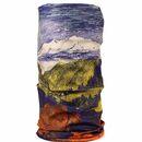 imagem do produto  Bandana Tubular Multiuso Respirável com proteção Solar UV Montanhas Coloridas - 3Z Bandanas