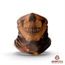 imagem do produto  Bandana Tubular Multiuso Respirável Com Proteção Solar Uv Skull - Mundo Terra