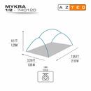imagem do produto  Barraca Mykra 1/2 Pessoa - Azteq