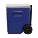 imagem do produto  Caixa térmica Igloo de 56 litros com rodas e alças telescópicas Transform 60 QT Azul - Igloo