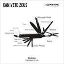 imagem do produto  Canivete Zeus - NTK Nautika