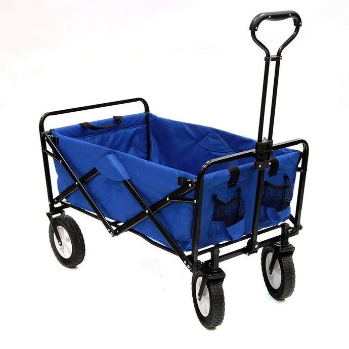 imagem do produto Carrinho dobrável para Transportes Diversos Wagon Suporta até 80 kg - NTK Nautika