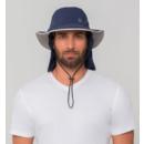 imagem do produto  Chapéu Kansas Legionário com Véu Destacável e Proteção UV  - UVLine