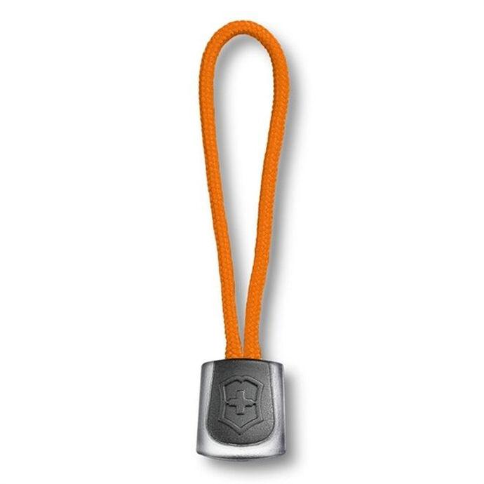 imagem do produto Cordão Puxador de Nylon 65 mm Laranja com Preto - Victorinox