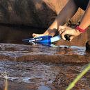 imagem do produto  Garrafa de 650ml com Filtro de Carvão Ativado Echo Stone Water - Stone Water