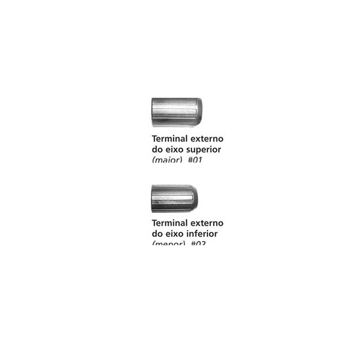 imagem do produto Kit de Resposição Terminal Externo para Bastão de Caminhada - Kailash