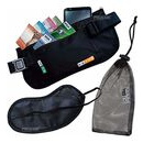 imagem do produto  Kit de Viagem Vox com Money Belt Porta Documentos e Tapa Olhos Blackout - Azteq