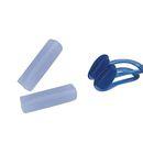 imagem do produto  Kit Proteção Auricular e Nasal protetores para os Ouvidos Moldáveis e Nariz em Silicone - NTK Nautika