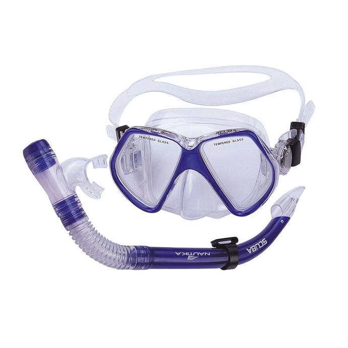 imagem do produto Kit Scuba Máscara e Respirador para Mergulho - NTK Nautika