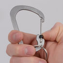 imagem do produto  Mosquetão SlideLock Aço Inoxidável #4 - Niteize