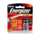 imagem do produto  Pilhas Energizer Max AA6 com 6 unidades - Energizer