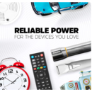 imagem do produto  Pilhas Energizer Max AAA2 com 2 unidades - Energizer