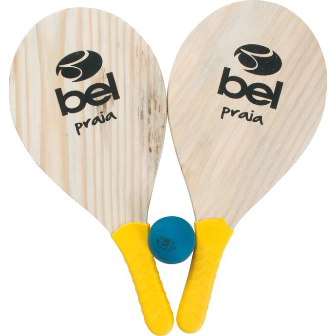 imagem do produto Raquetes de Frescoball Kit Praia Par com Bola de borracha - Bel