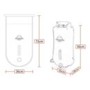 imagem do produto  Saco Estanque Boia de Marcação Multifuncional Flutuável Para Natação 28 Litros - Naturehike