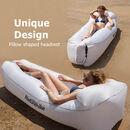 imagem do produto  Sofá Inflável Ultralight Lazybag para Praia ou Montanha - Naturehike