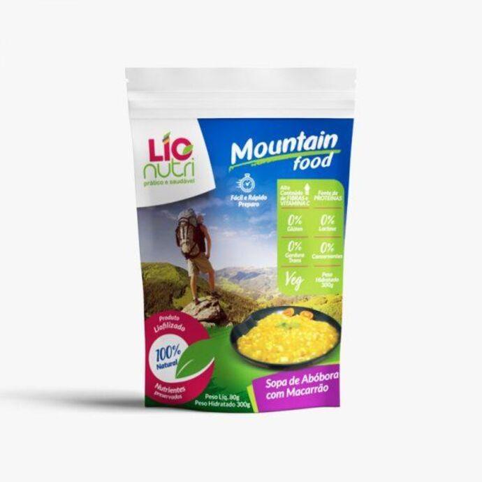 imagem do produto Sopa de Abóbora com Macarrão - Lionutri