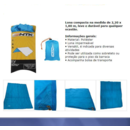 imagem do produto  Tarp Toldo ou Tenda Compacta Fly - NTK Nautika