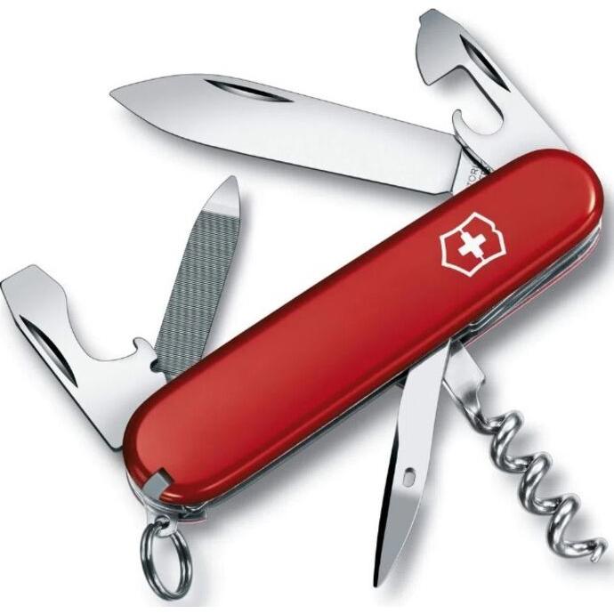 imagem do produto Canivete Suiço Sportsmam 13F Vermelho - Victorinox