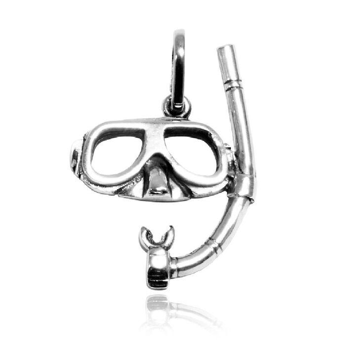 imagem do produto Pingente de Máscara e Snorkel - Magia das Jóias