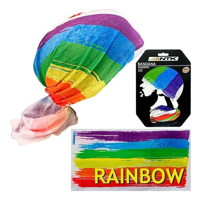imagem do produto Bandana Tubular Multiuso Rainbow UV - NTK Nautika